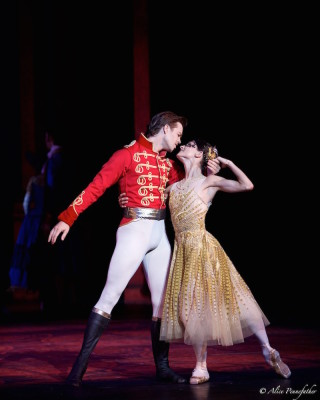 Anna Tsygankova and Matthew Golding