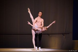 Vadim Muntagirov and Sarah Lamb in Robbins' Afternoon of a Faun