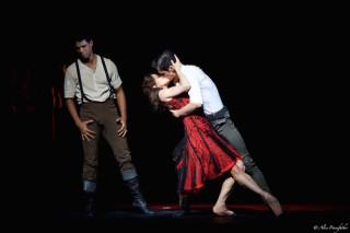 Marianela Núñez as Carmen, Federico Bonelli as Escamillo and Carlos Acosta as José