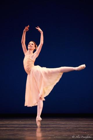 Lauren Cuthbertson in Balanchine's Tchaikovsky Pas de Deux