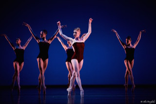 Meaghan Grace Hinkis and Artists of The Royal Ballet in Liam Scarlett's Viscera