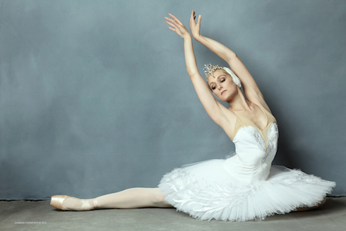 Maria Sascha as Odette Photo: © Charles Thompson