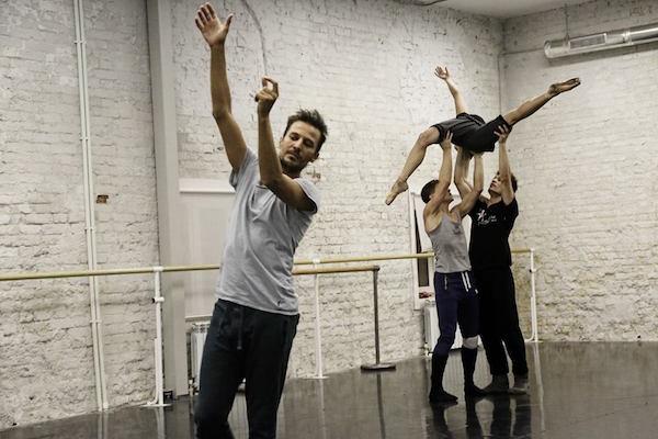 Balet Moskva in rehearsal