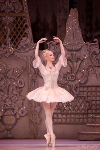 Iana Salenko as the Sugar Plum Fairy