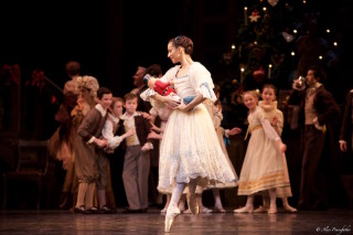 Francesca Hayward as Clara and Artists of The Royal Ballet in The Nutcracker
