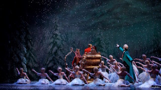 Francesca Hayward, Alexander Campbell, Gary Avis and Artists of The Royal Ballet in The Nutcracker