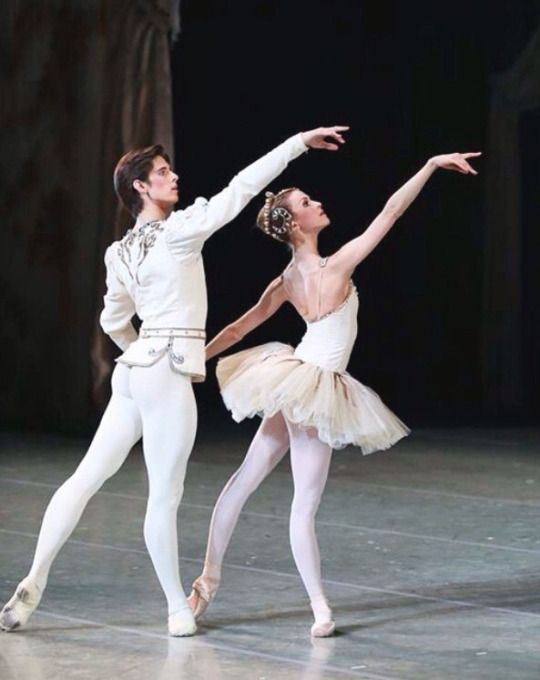 Xander Parish and Alina Somova in Balanchine's Diamonds