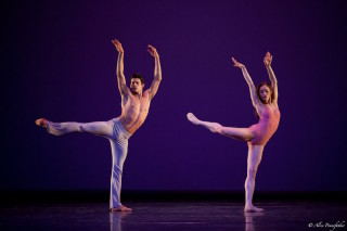 Marianela Núñez and Thiago Soares in Wheeldon's After the Rain