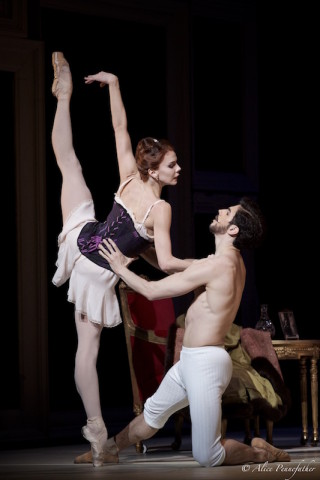 Natalia Osipova and Federico Bonellli in Wheeldon's Strapless