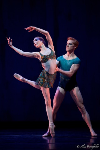 Sarah Lamb and Steven McRae in Wheeldon's Within The Golden Hour