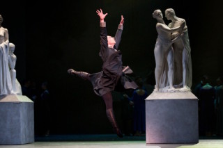 Bennet Gartside as King Leontes in Wheeldon's The Winter's Tale