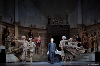 Thomas Whitehead and Artists of the Royal Ballet in Liam Scarlett's Frankenstein