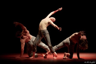O'Hara and Jason Kittelberger in Qutb by Sidi Larbi Cherkaoui