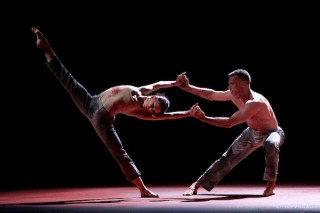 Natalia Osipova and Jason Kittelberger in Qutb by Sidi Larbi Cherkaoui