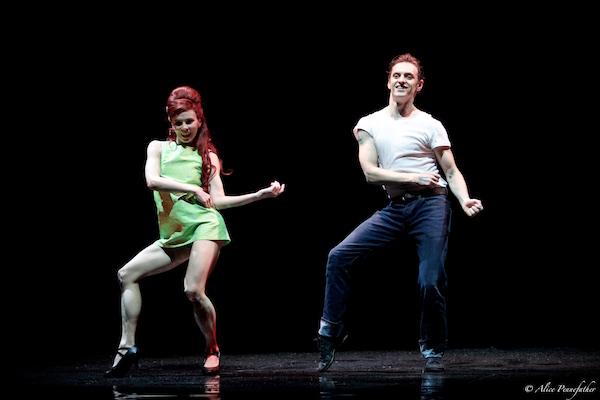 Natalia Osipova and Sergei Polunin in Arthur Pita's Run Mary Run