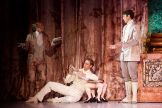 Ty King-Wall as the Prince and Artists of the Australian Ballet.