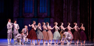 Artists of the Australian Ballet in Ratmansky's Cinderella.