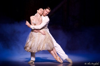Ty King-Wall and Amber Scott in Ratmansky's Cinderella