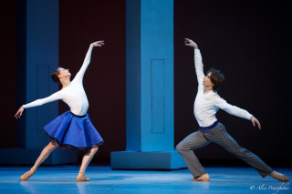 Nina Kaptsova as Bianca and Artem Ovcharenko as Hortensio