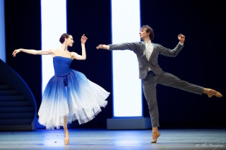 Olga Smirnova as Bianca and Semyon Chudin as Hortensio