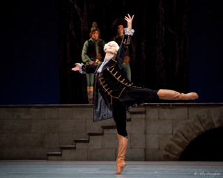 Semyon Chudin as the Marquis Costa de Beauregard in Flames of Paris