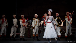 Anna Nikulina as Adeline and Artists of Bolshoi Ballet