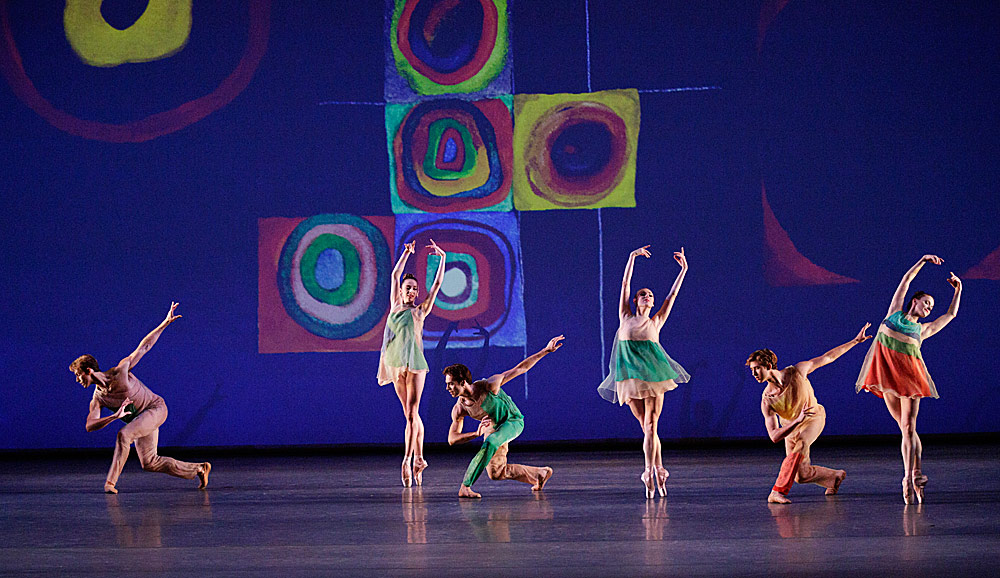 Artists of New York City Ballet in  Ratmansky's Pictures at an Exhibition