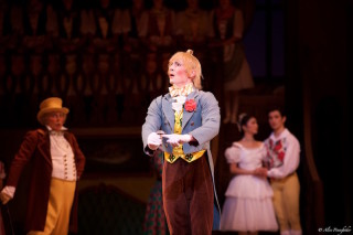 Tristan Dyer as Alain in La Fille Mal Gardée