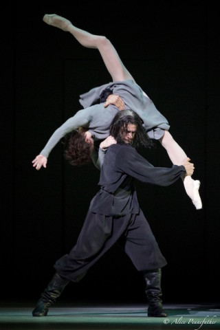 Natalia Osipova as Anna Anderson / Anastasia and Thiago Soares as Rasputin