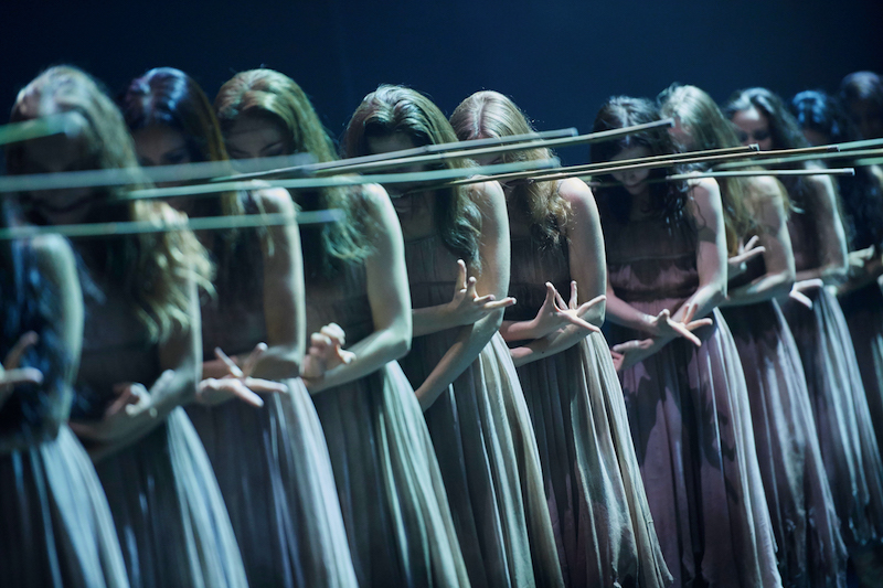 Artists of English National Ballet in Akram Khan's Giselle