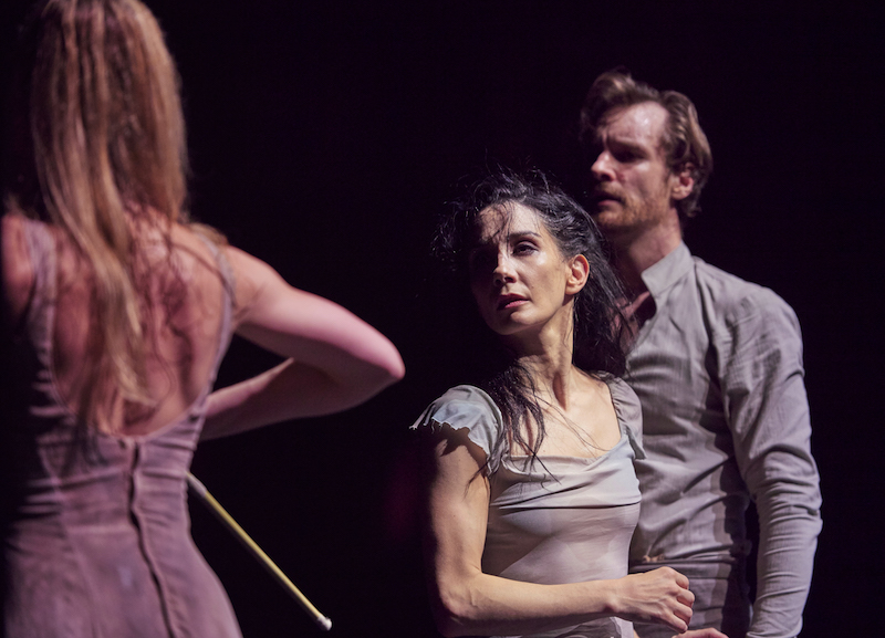 Tamara Rojo as Giselle, James Streeter as Albrecht and Stina Quagebeur as Myrtha
