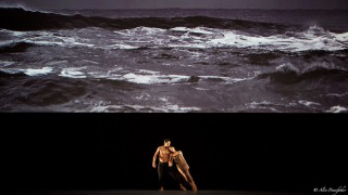 Mara Galeazzi and Ryo Hirano in Woolf Works.