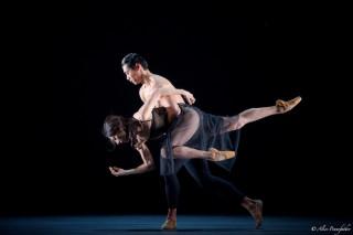 Mara Galeazzi and Ryo Hirano in Woolf Works.