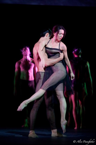Mara Galeazzi and Ryo Hirano in Woolf Works