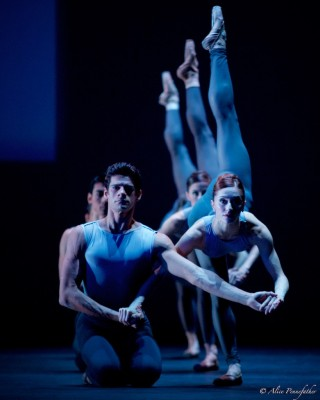 Marianela Núñez, Thiago Soares, Claire Calvert, Nicole Edmonds, Ryo Hirano and Itziar Mendizabal in After the Rain