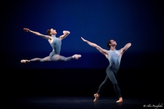 Claire Calvert and Nicol Edmonds in After the Rain.