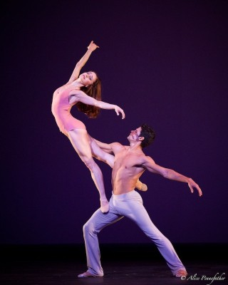 Marianela Núñez and Thiago Soares in After the Rain