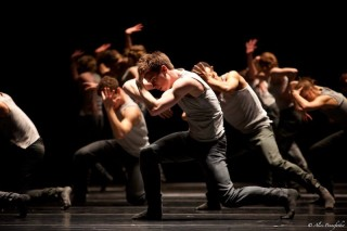 Artists of The Royal Ballet in Crystal Pite's Flight Pattern
