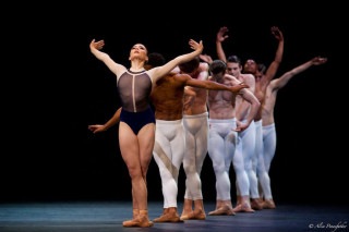 Claire Calvert and Artists of The Royal Ballet in The Human Seasons.