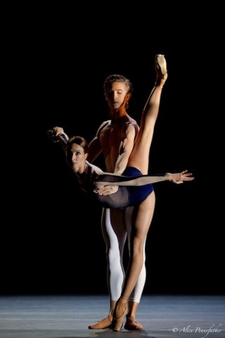Vadim Muntagirov and Lauren Cuthbertson in The Human Seasons