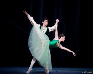 Ryo Hirano and Laura Morera in Emeralds