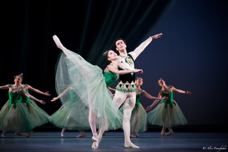 Beatriz Stix-Brunell, Valeri Hristov and Artists of The Royal Ballet in Emeralds