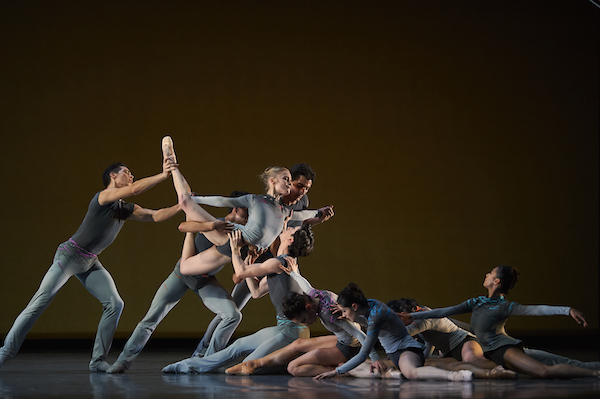 San Francisco Ballet artists perform Ghost In The Machine