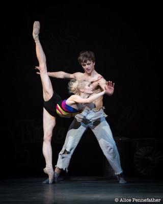 Melissa Hamilton and Matthew Ball in The Judas Tree