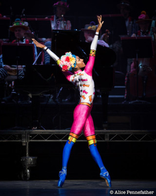 Precious Adams in Elite Syncopations
