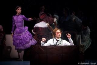 Akane Takada and James Hay in Alice's Adventures in Wonderland.