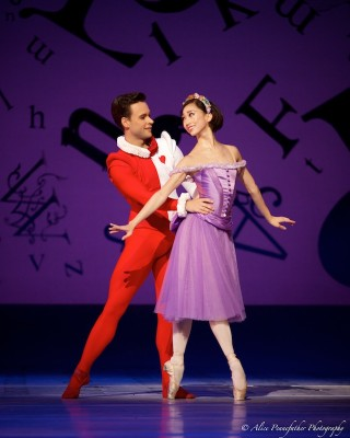 Akane Takada and Alexander Campbell in Alice's Adventures in Wonderland