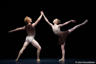 Sarah Lamb and Steven McRae in Twyla Tharp's The Illustrated Farewell
