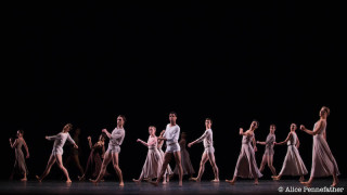 Artists of The Royal Ballet in Twyla Tharp's The Illustrated Farewell