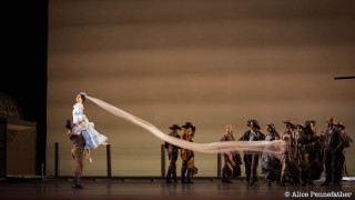 Natalia Osipova, Thiago Soares and Artists of The Royal Ballet in Arthur Pita's The Wind